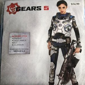 Gears 5: Corporal Kait Diaz Adult Costume New!